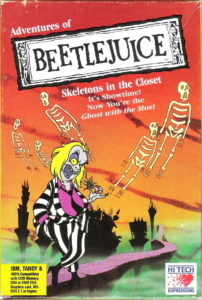 beetlejuice skeletons in the closet box