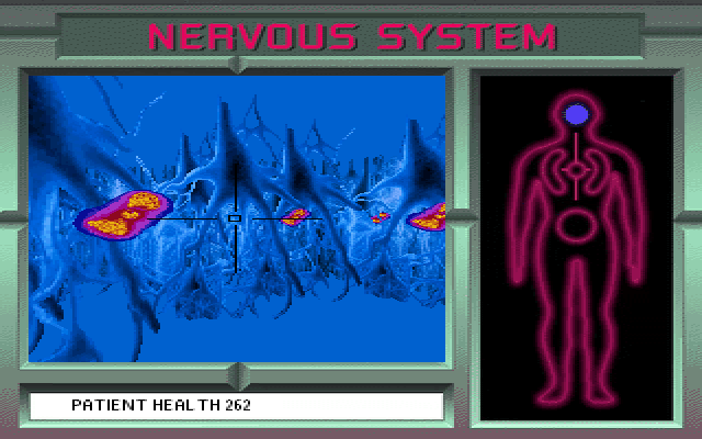 3d body adventure nervous system