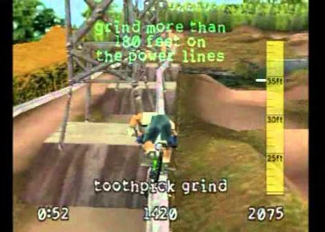 dave mirra's freestyle bmx screenshot ps1