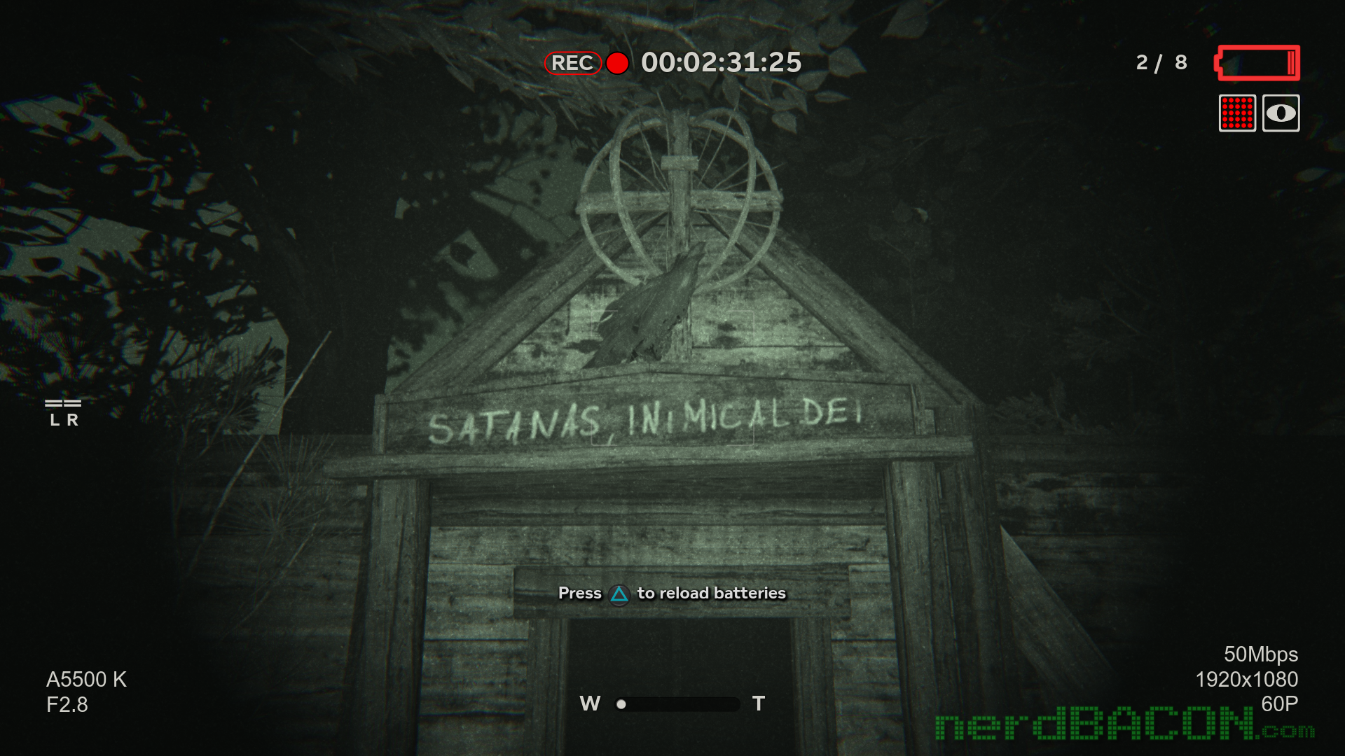 outlast 2 demo ps4 night vision camera