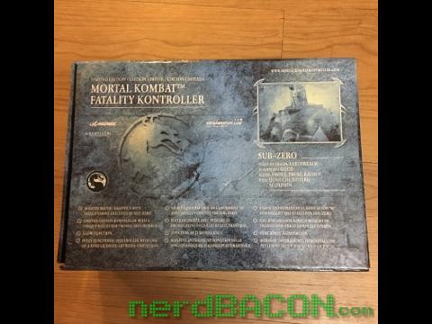 mortal kombat fatality controller box back