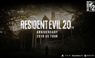 Nerd Bacon at the Resident Evil 20th Anniversary Tour