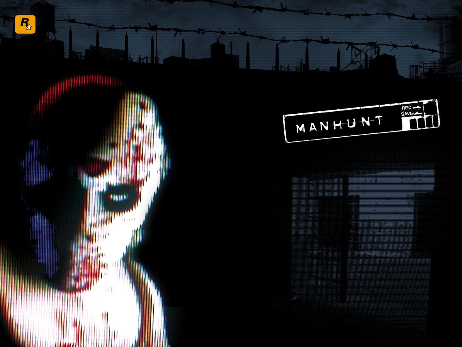 manhunt game art