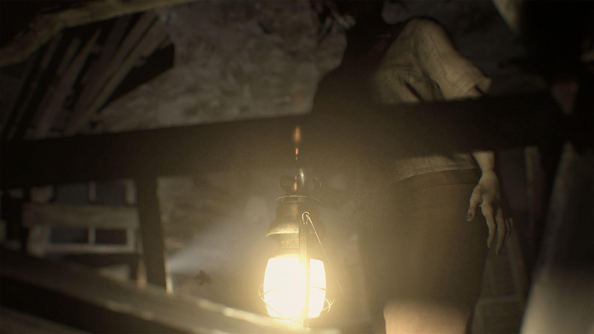 resident evil 7 biohazard lantern demo