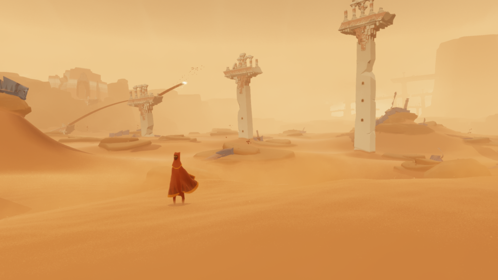 Journey PS4 [Architecture]