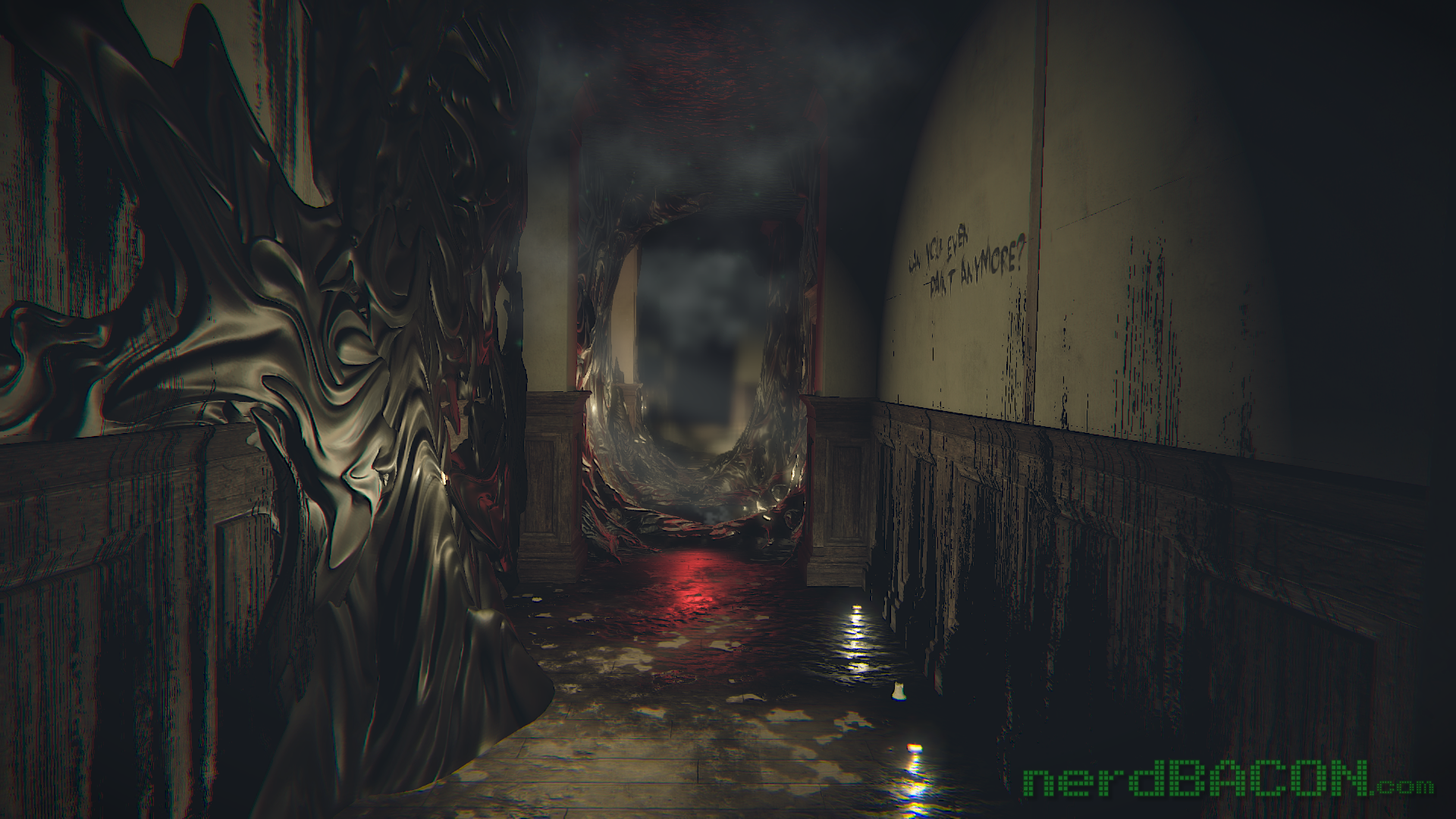 layers of fear melted hallway