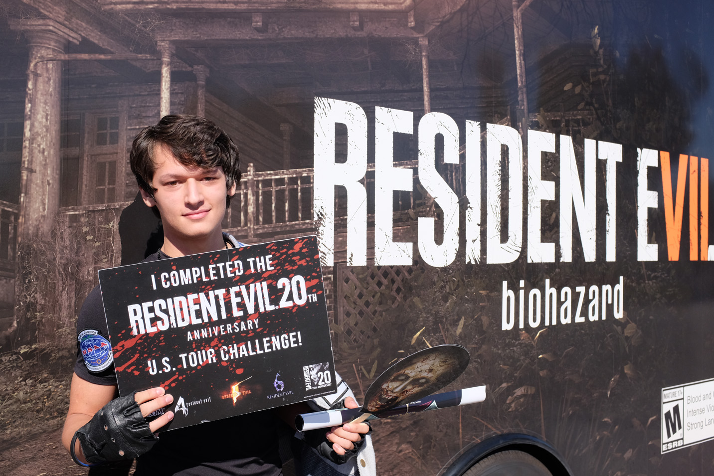 resident evil anniversary tour challenge