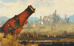 Fallout 4 - Nuka-World giant bottle