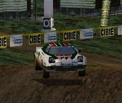 sega rally 2 screen