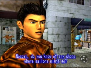 You'll get to spend as much time with sailors as you want - if Shenmue is really getting a remaster.