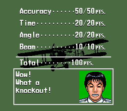 Earn points in each of the different flight modes in order to progress in Pilotwings.