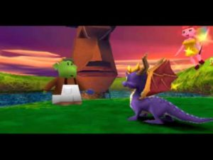 Spyro 2 is much more detailed compared to the prequel.