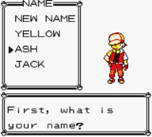 name select