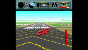 Flying the biplane will always be my favorite activity in Pilotwings.