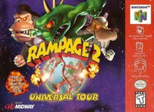 Rampage 2: Universal Tour - Nintendo 64 - Nerd Bacon Reviews