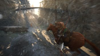 The story mode apparently has some cool mechanics like horseback chases!