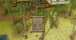 One of RuneScapes graphical updates added textures and lighting making the game much more appealing.