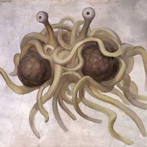 No, not that spaghetti monster.