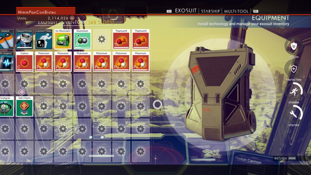 No Man's Sky, horde with ease!
