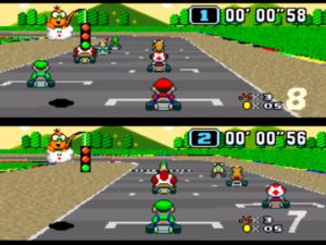 If you had a SNES, chances are you had Super Mario Kart.