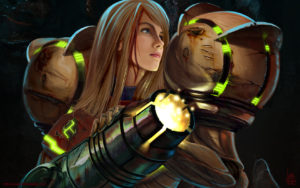 Metroid's return will close out Nintendo's E3 2017 presentation. - image by transfuse, deviantart.com
