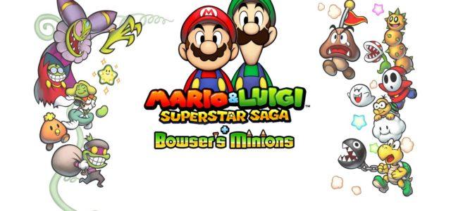 Strategic Fun Coming to the 3DS with Mario & Luigi + Bowser's Minions – E3 2017