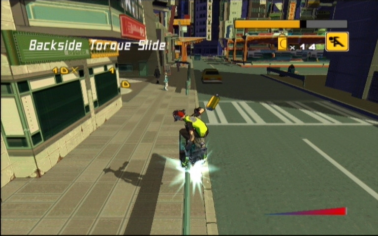 Jet Set Radio Future on Xbox