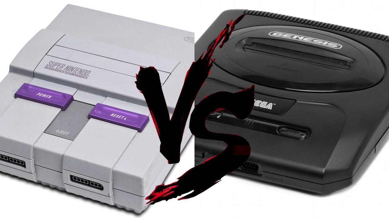 Super nintendo vs sega genesis specs nerd bacon reviews - Sega saturn virtual console ...